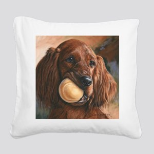 Wanna Play Square Canvas Pillow