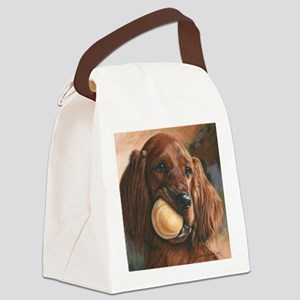 Wanna Play Canvas Lunch Bag