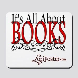 All About Books Mousepad