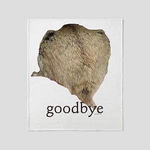 abby goodbye Throw Blanket