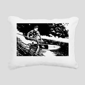 SUPSURFING_whtT Rectangular Canvas Pillow