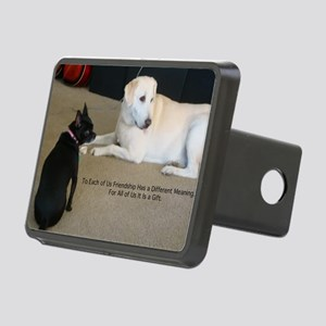 Dogs Friendship Rectangular Hitch Cover