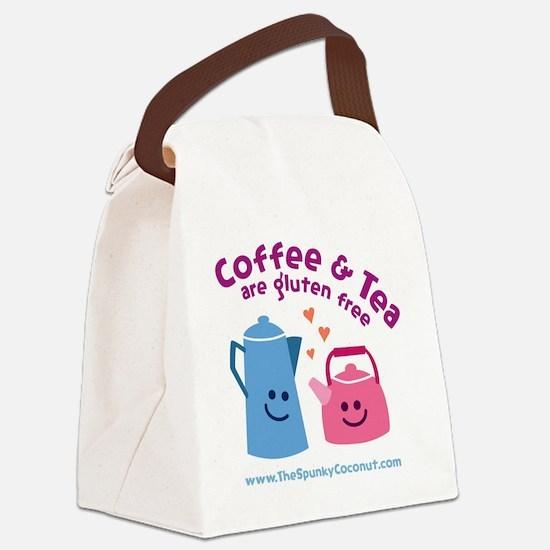 CoffeeTeaMug Canvas Lunch Bag