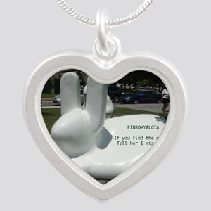 Find Old Me Silver Heart Necklace