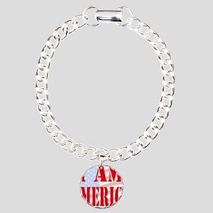 I am America Charm Bracelet, One Charm