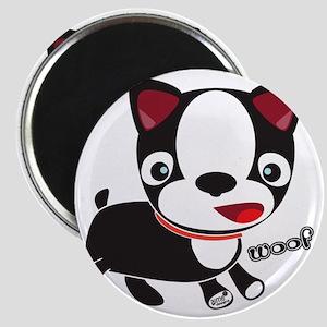 Choopie - Boston Terrier Puppy Magnet