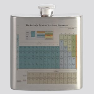2-Periodic Table of Nonsense Poster v1.4 Flask