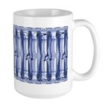 Large Blue Klingon Mug