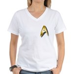 A unique Star Trek Women's V-Neck T-Shirt