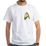 A unique Star Trek White T-Shirt