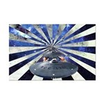 """Space Warp"" Star Trek Mini Poster Print"