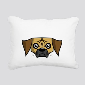 SS_Puggles-Rule-dark Rectangular Canvas Pillow
