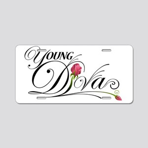 youngdvs_logowk300 copy Aluminum License Plate