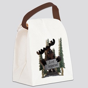 moose live inspired Canvas Lunch Bag
