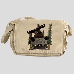 moose live inspired Messenger Bag