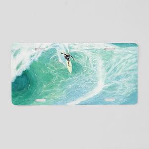 surf_03 Aluminum License Plate