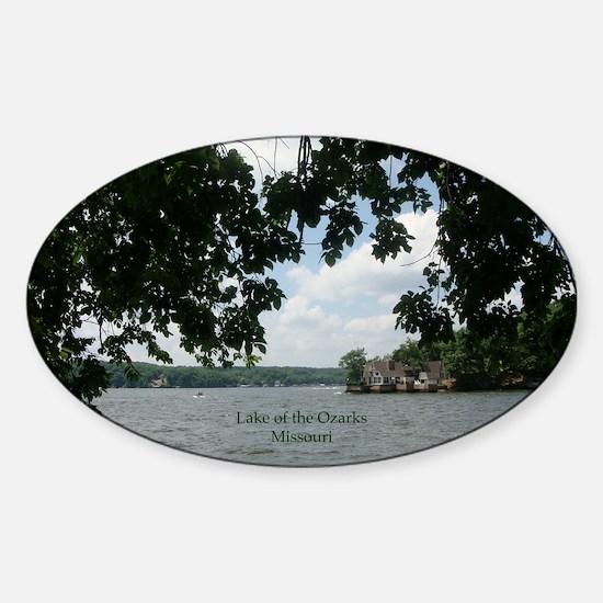 Ozarks Sticker (Oval)