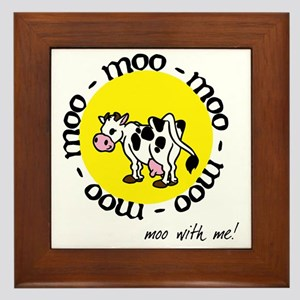 moo_with_me_moon Framed Tile