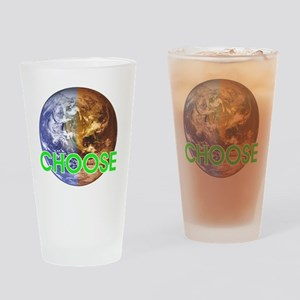 10x10_choose_lite Drinking Glass