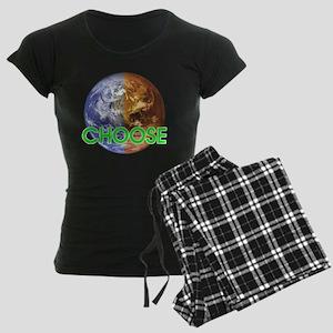 10x10_choose_lite Women's Dark Pajamas
