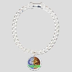 10x10_choose_lite Charm Bracelet, One Charm