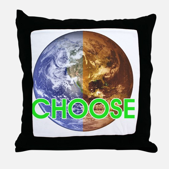 10x10_choose_lite Throw Pillow