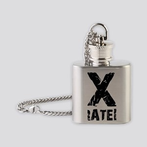 XRATED Flask Necklace