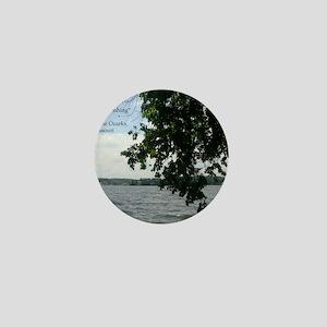 Tree Fishing Mini Button