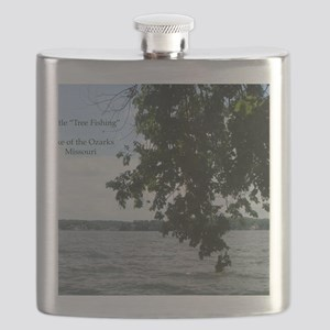 Tree Fishing Flask