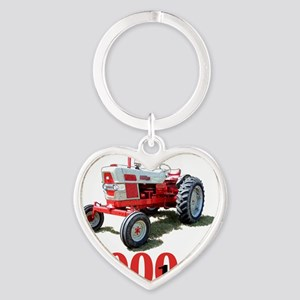 Ford6000-10 Heart Keychain