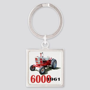 Ford6000-10 Square Keychain