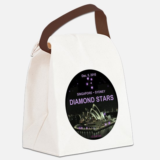 Diamond Stars -Dec. 5, 2010 Singa Canvas Lunch Bag