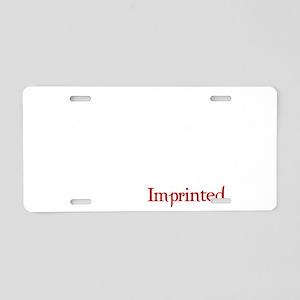 Imprintedeclipseblack Aluminum License Plate