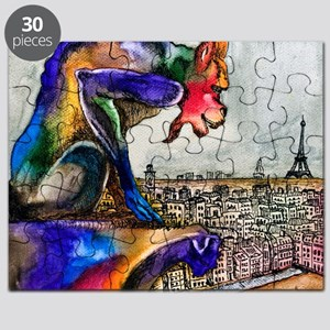 Gargoyle of Color Puzzle