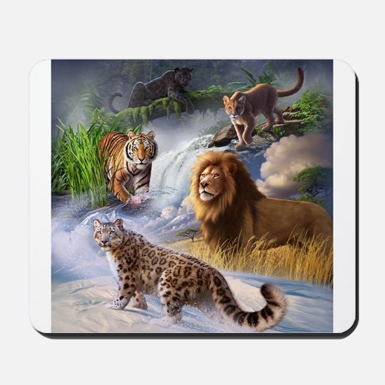 Big Cats Mousepad