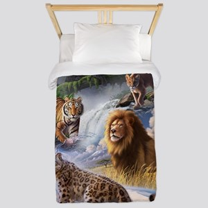 Big Cats Twin Duvet