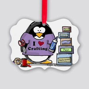 crafting Picture Ornament