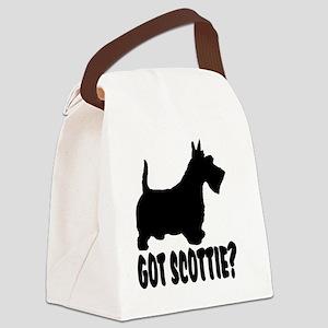Got Scottie Canvas Lunch Bag