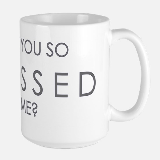 OBSESSED-DESIGN.gif Large Mug