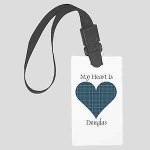 Heart - Douglas Large Luggage Tag