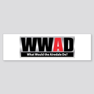 Would Airedale Bumper Sticker