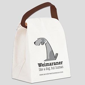likadogbuthuman Canvas Lunch Bag