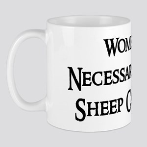 Women and Sheep Mug