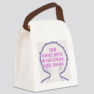 2-afro copy Canvas Lunch Bag