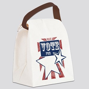 vote for blank srcr Canvas Lunch Bag