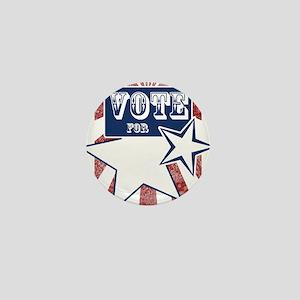 vote for blank srcr Mini Button