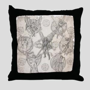7Angels10x10 Throw Pillow