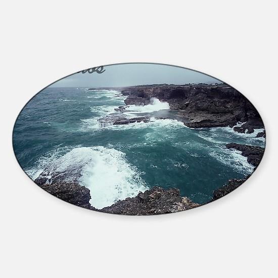 Barbados2 Sticker (Oval)