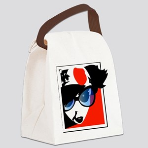 thingy-shirt Canvas Lunch Bag