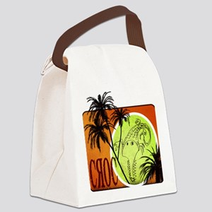 croc sr Canvas Lunch Bag